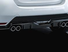 GR Yaris RC - GXPA16 - GR Rear Bumper Spoiler - Construction: Resin (PPE) - Colour: Black (212) - MS343-52008