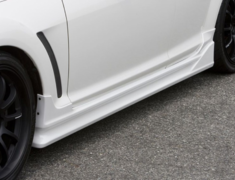 - Side Skirts - Construction: PFRP - Colour: Unpainted - CSE301A-SSPF