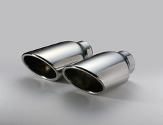 Yaris Hybrid - MXPH10 - Pieces: 1 - Pipe Size: 50mm - Tail Size: 108mm (x2) - Tail Type: OVAL-2.5R - 63566