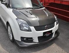 Swift Sport - ZC31S - Front Spoiler - Construction: Carbon Fiber - FM-ZC31S-FSC