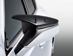 ES300h - AXZH10 - Aerodynamic Mirror Covers - Construction: Resin (ABS) - Colour: Black (212) - MS329-00001