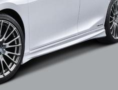 ES300h - AXZH10 - Side Spoilers - Construction: Resin (ABS) - Colour: Black (212) ... C0 - Colour: Graphite Black Glass Flake (223) ... C1 - Colour: Sonic Quartz (085)... A1 - Colour: White Nova Glass Flake (083) ...A0 - MS344-33006-##