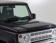 Jimny Sierra - JB74W - Bonnet Hood Cover - Construction: ABS - Colour: Unpainted - DAMD-JSLB-BHC