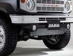 Jimny Sierra - JB74W - Front Bumper - Construction: ABS - Colour: Unpainted - DAMD-JSLB-FB