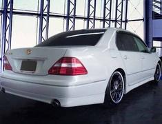 Celsior - UCF30 - Rear Half Spoiler - Construction: ABS - Colour: Unpainted - FS-UCF3#-RHS