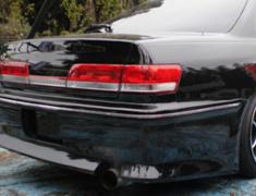 Mark 2 - GX100 - Rear Bumper Spoiler - Construction: FRP - Colour: Unpainted - CMTE-VER-MKII-RBS