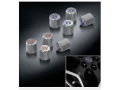 XV - GT3 - Wheel Air Valve Caps - Category: Exterior - Colour: Blue - B2317FL010