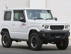 Jimny - JB64W - Material: ABS Resin - Color: Unpainted - 797500-5500M