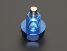 Mitsubishi - Neodymium Aluminum Drain Bolt - Thread: M14 x P1.5 - 00B 001 ND02