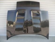 Roadster - NA6CE - Bonnet - Material: Carbon (Plain Weave) with FRP Backbone - TC-NARCB-C