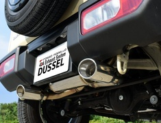 Jimny - JB64W - Material: Stainless Steel - Pipe Size: 50.8mm - Tail Size: 115x80mm (x2) - Tail Type: Oval - DUSW-741