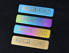 Top Secret - Titanium Emblem