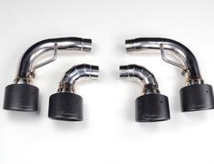 LC500 - URZ100 - Muffler cutter Carbon tail - Construction: SUS304 / Carbon Fiber - 1L007Z30