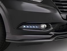 Vezel - RU1 - Fog Lamp Covers (with LED) - Colour: Unpainted - TLARN-RU14-FLC