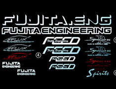 Fujita Engineering - FEED & Afflux Stickers