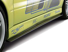 Lancer Evolution IX - CT9A - Side Extensions - Construction: Carbon Fiber - DAMD-EVO89-SE