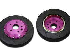 GS F - URL10 - Type: Rear Set - Size: 345mm x 28mm - Color: Purple - BR.R2.LX14R