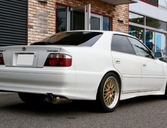 Chaser - JZX100 - Material: SUS304 Stainless Steel - Pipe Size: 80mm - Tail Size: 90mm - Tail Type: Right Exit - 280112