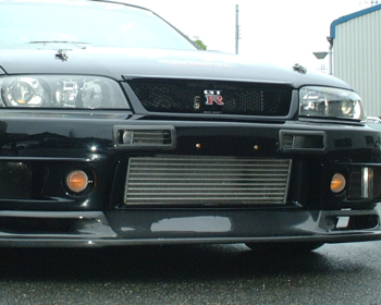 Car Shop F1 - R33 Style Front Bumper Air Duct