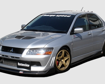 ChargeSpeed - Bottom Line Aero Parts for EVO VII