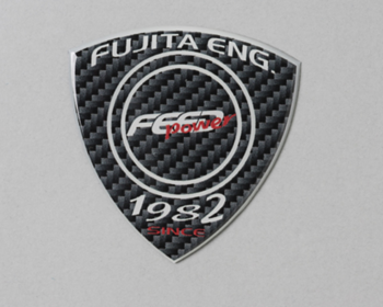 Fujita Engineering - FEED Power Carbon Emblem
