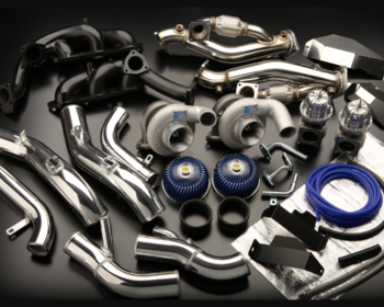Greddy - Turbo Kit - GT-R R35 - Wastegate Type