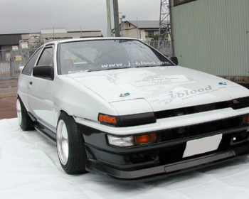 J-Blood  - Front Bumper Soft FRP for AE86 Trueno Kouki