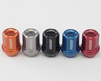 RAYS - L32 Duralumin Straight Lock Nut (4 Pack)