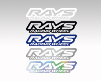 RAYS - RACING WHEEL Sticker