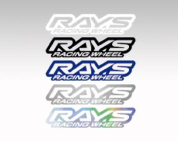 RAYS - RACING WHEEL Sticker