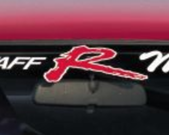 R Magic - PRO STAFF R Magic Window Sticker