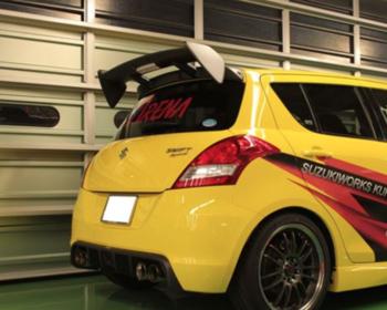Suzuki Works Kurume - SWK Premium Wing