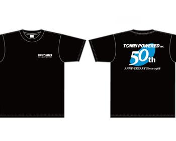 Tomei - 50th Anniversary T-Shirt