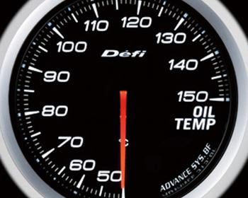 Defi Link Meter - ADVANCE BF - Oil Temperature - White