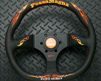 KEY'S Racing - Fossa Magna - D-Shape - Steering Wheel