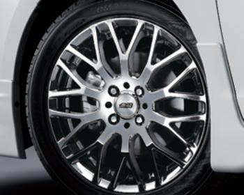 Mugen - Aluminum Wheel XJ - Black Metal Coat