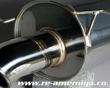 RE Amemiya - 90Curl Dolphin Tail Muffler