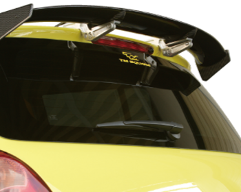 TM Square 3D Carbon Rear Wing