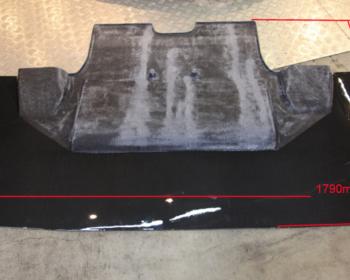 Garage Kagotani - Universal Front Diffuser Panel Carbon