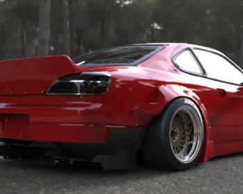 Rocket Bunny - Nissan Silvia S15 Aero Parts