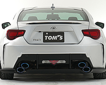 TOM'S - Toyota 86 Exhaust System