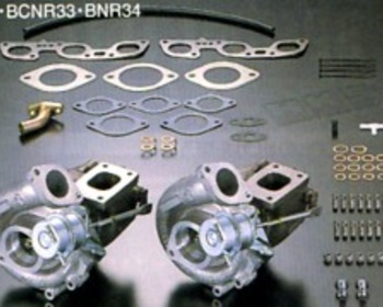 HKS GT-SS Sports Turbine kit & Extention Pipes for Skyline GTR
