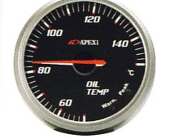 Apexi - EL2 System Meter - Oil Temperature