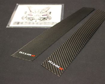 Nismo - Carbon Pillar Garnish