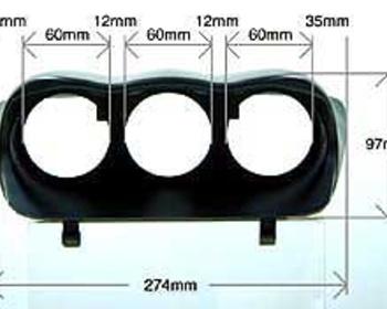 Defi - 3 Meter Hood - Subaru WRX GC8