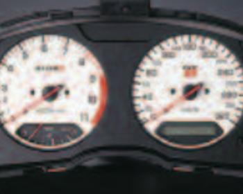 Nismo - Combo Meter - Skyline R34 GTR - White