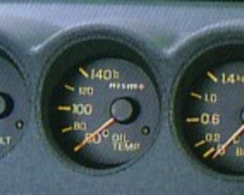 Nismo - Console Meter - Skyline R34 GTT