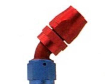 HKS - Reusable Aluminium Fitting - 45deg Elbow