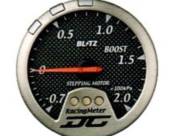 Blitz - Racing Meter - DC II - Boost - Carbon