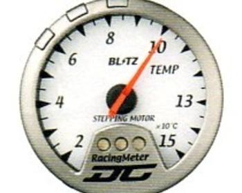 Racing Meter - DC II - Temperature - White
